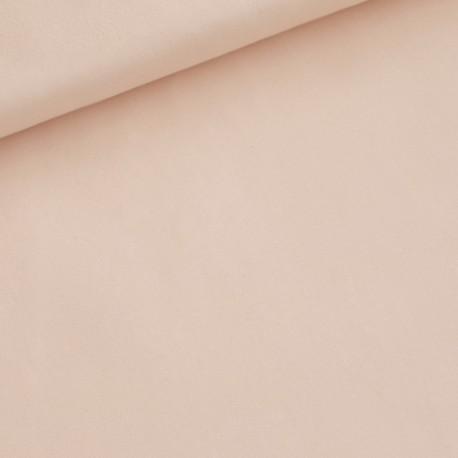 French Terry Eva Mouton uni softijs roze