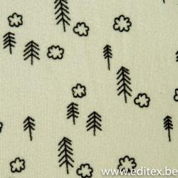 Sponge print tree