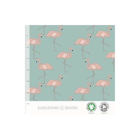 Flamingo dusty mint