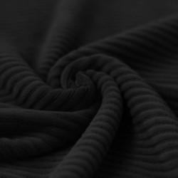 Corduroy zwart jersey