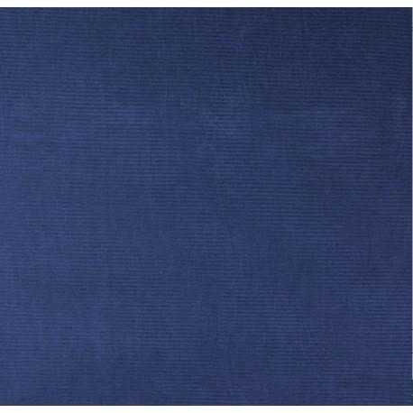 Corduroy Uni  Indigo blauw