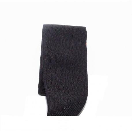 Sier elastiek zwart