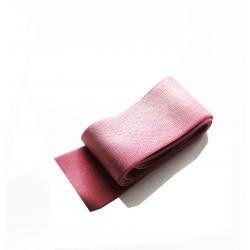 Sier elastiek oud roze