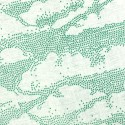 French terry print gebroken wit Clouds (SYatS)
