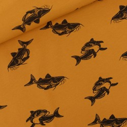 French terry print Carps SYatS)