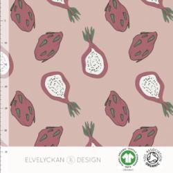 Jersey print Dragonfruit rose (030)