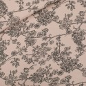 French terry print Cherry blossom