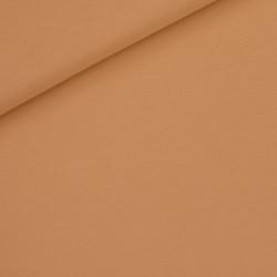 French terry Uni fenegriek bruin