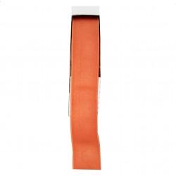 Sier elastiek zomers oranje 704