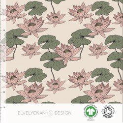 Water Lilies creme (027)