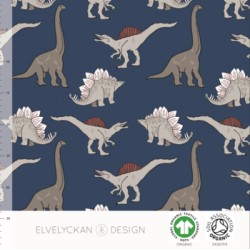 French terry print Dino (015)