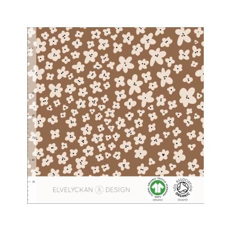 Jersey print Mini flower toffee (057)
