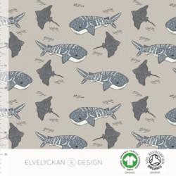 Jersey print Whale shark desert (031)