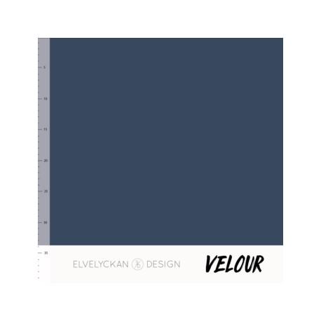 Velour Dark blue (015)