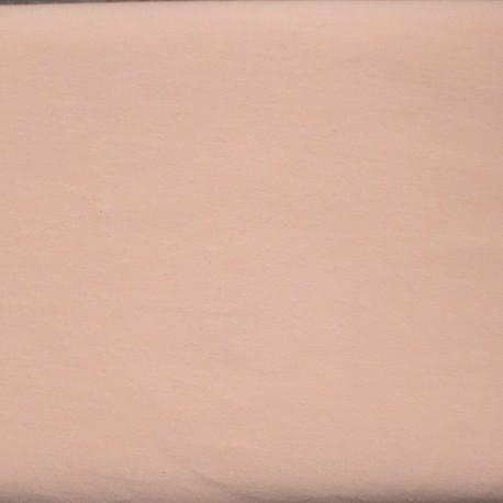 Jersey solid zalm-roze
