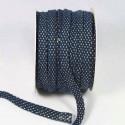 Jogging koord denim blauw met lurex